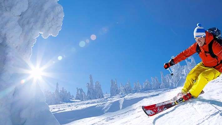 Todo listo para esquiar, y tú… ¿Estás preparado?