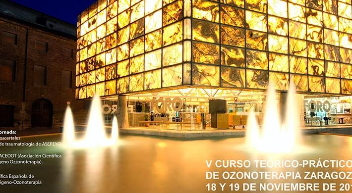 Zaragoza acoge el V curso teórico-práctico de Ozonoterapia de la ACEOOT