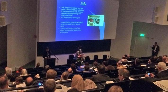 El Dr. Félix Pastor imparte una conferencia en el Congreso Europeo de Ozonoterapia