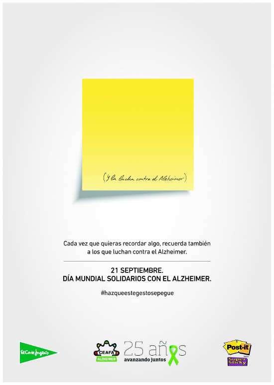 Alzheimer Dia Mundial Cartel 2015