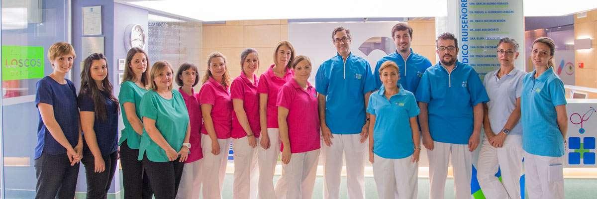 Equipo clínica Loscos