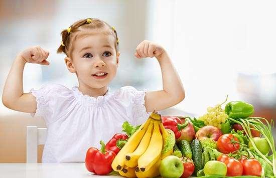 Niños y la comida sana