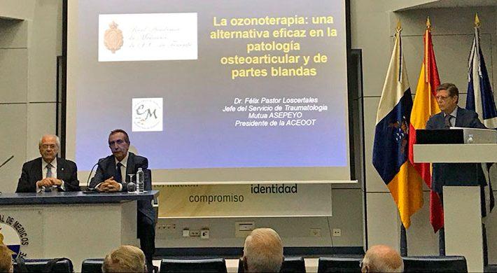 El Dr. Pastor ofrece una conferencia sobre la Ozonoterapia en la patología Osteoarticular