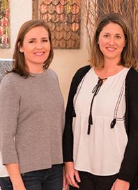 Adriana Marqueta y Paola Pérez Correas