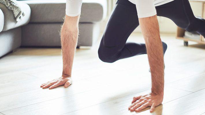 Cómo evitar adoptar un ritmo de vida sedentario durante la cuarentena
