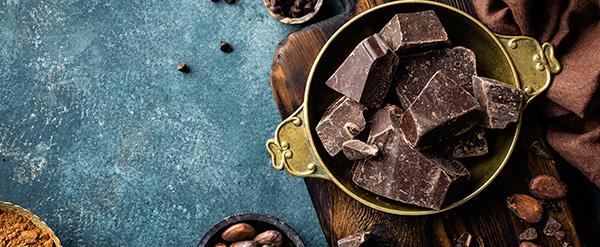 Chocolate negro menos azúcar
